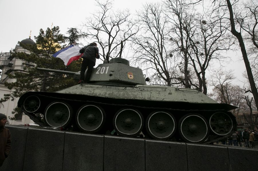 Le gouvernement de Crimée aux mains de pro-Russes