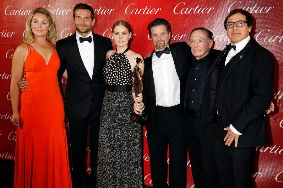 """L'équipe du film """"American Hustle"""""""