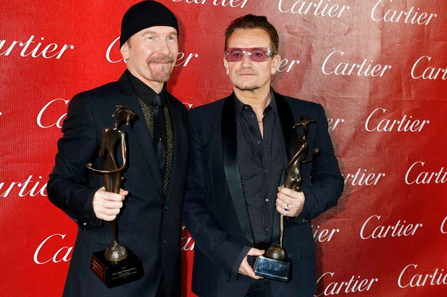 The Edge et Bono