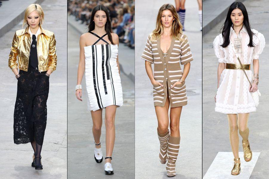 La collection Prêt-à-Porter Printemps-Eté 2015 de Chanel
