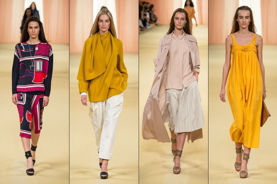 La collection Prêt-à-Porter Printemps-Eté 2015 de Hermès