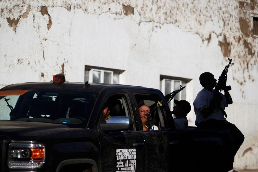 Reprendre des villages en main, comme à Paracuaro