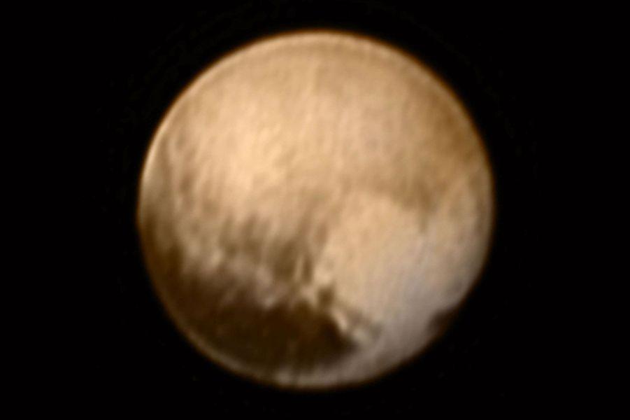 La planète naine Pluton