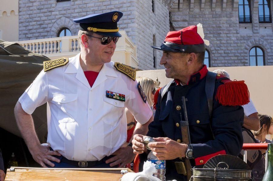 Le prince Albert II de Monaco a participé aux célébrations du 70ème anniversaire de la libération