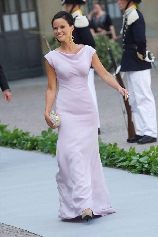 Au mariage de la princesse Madeleine en juin 2013