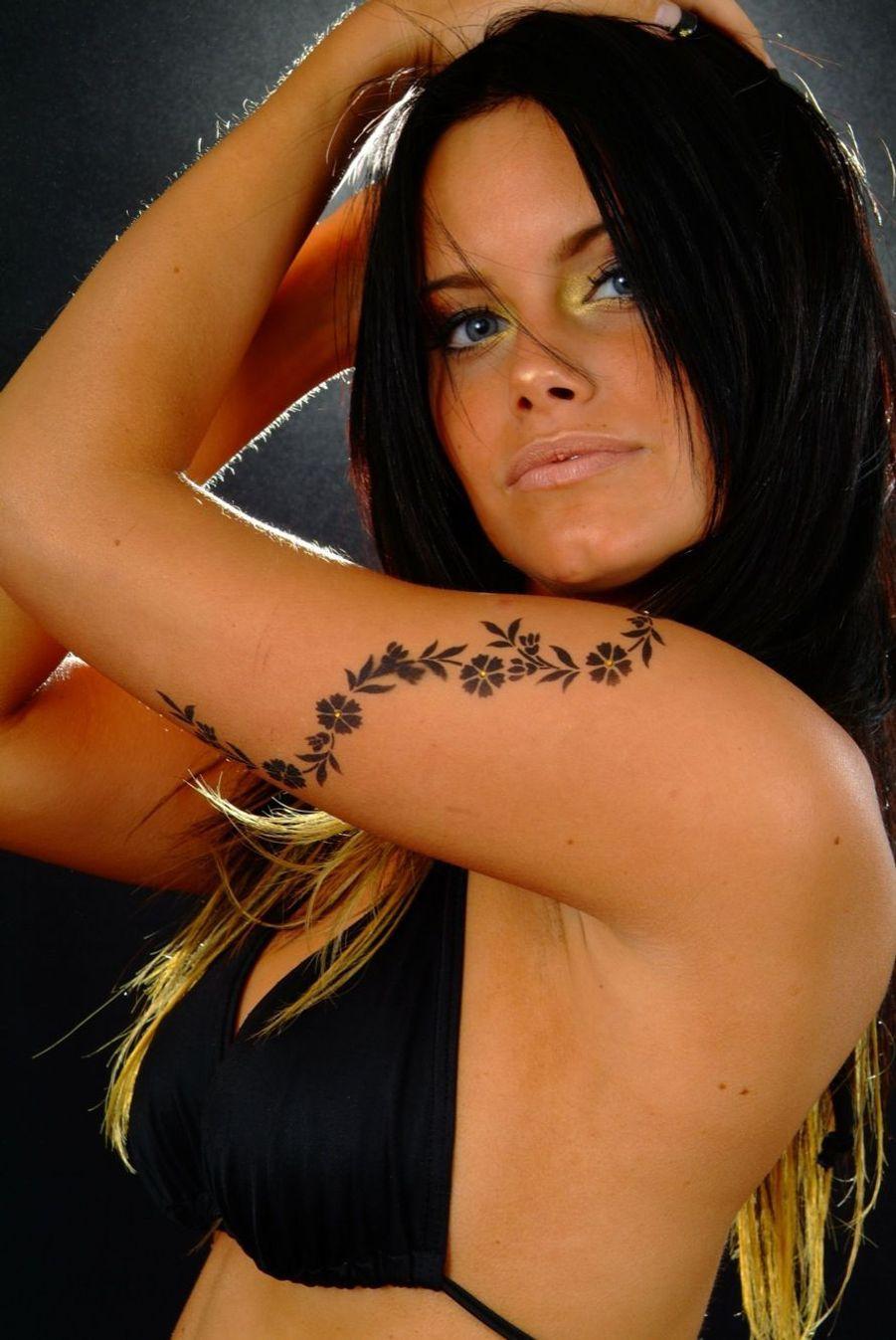 Séance photo sensuelle en 2010