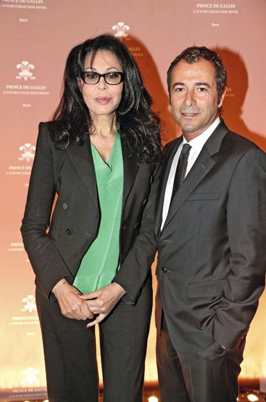 Yamina Benguigui et Bernard Montiel