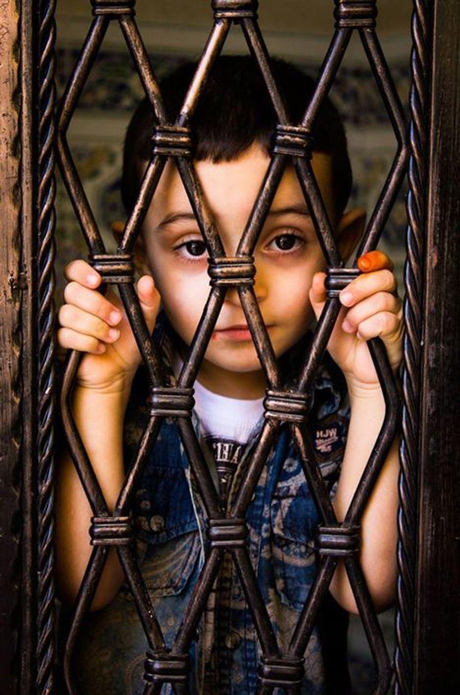"""""""L'innocence derrière les barreaux de fer"""" Setif le 17 juillet 2015"""