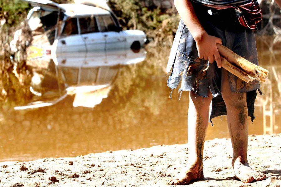 """""""Les inondations de Ghardaia de 2008"""" El Gouara, Ghardaia le 7 octobre 2008"""