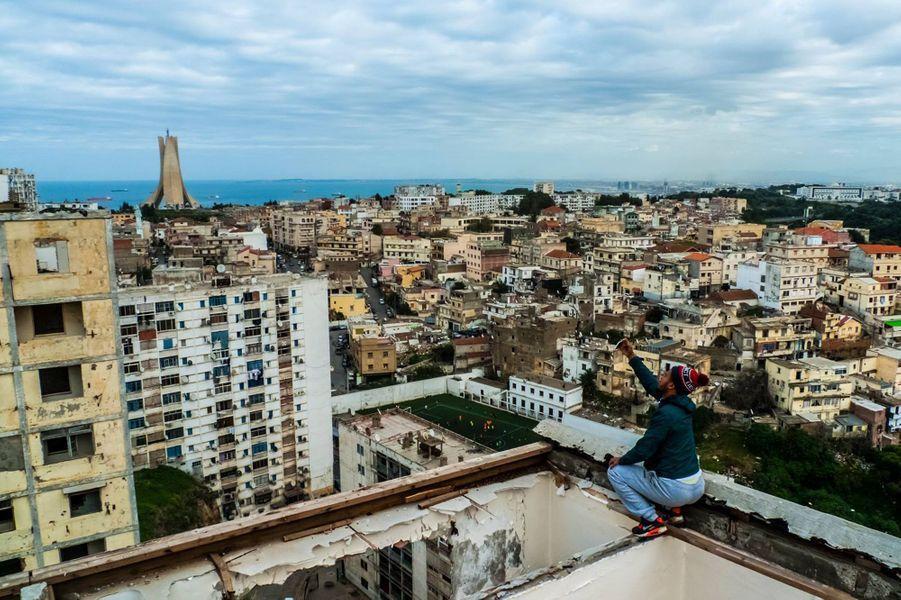 """Pride"" Cité diar rl chams, El Madania, Alger le 12 janvier 2016"