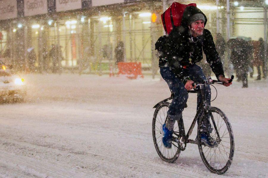 Le retour de la neige à New York