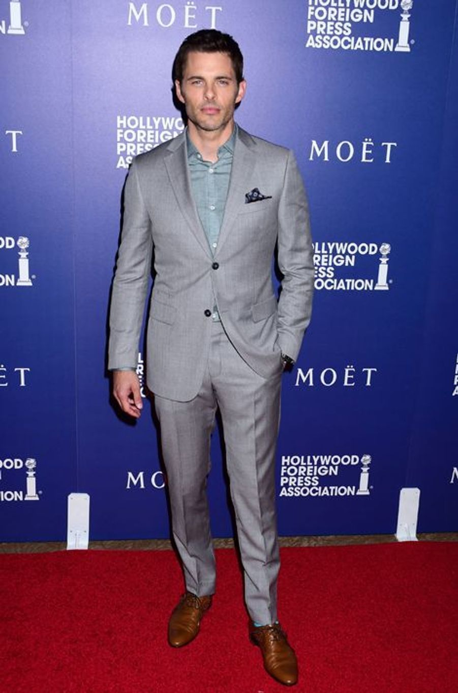 James Marsden, en Z Zegna