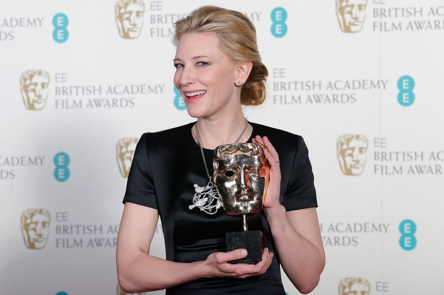 "Cate Blanchett, meilleure actrice pour ""Blue Jasmine"""