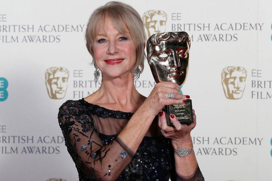 Helen Mirren, honorée pour l'ensemble de sa carrière