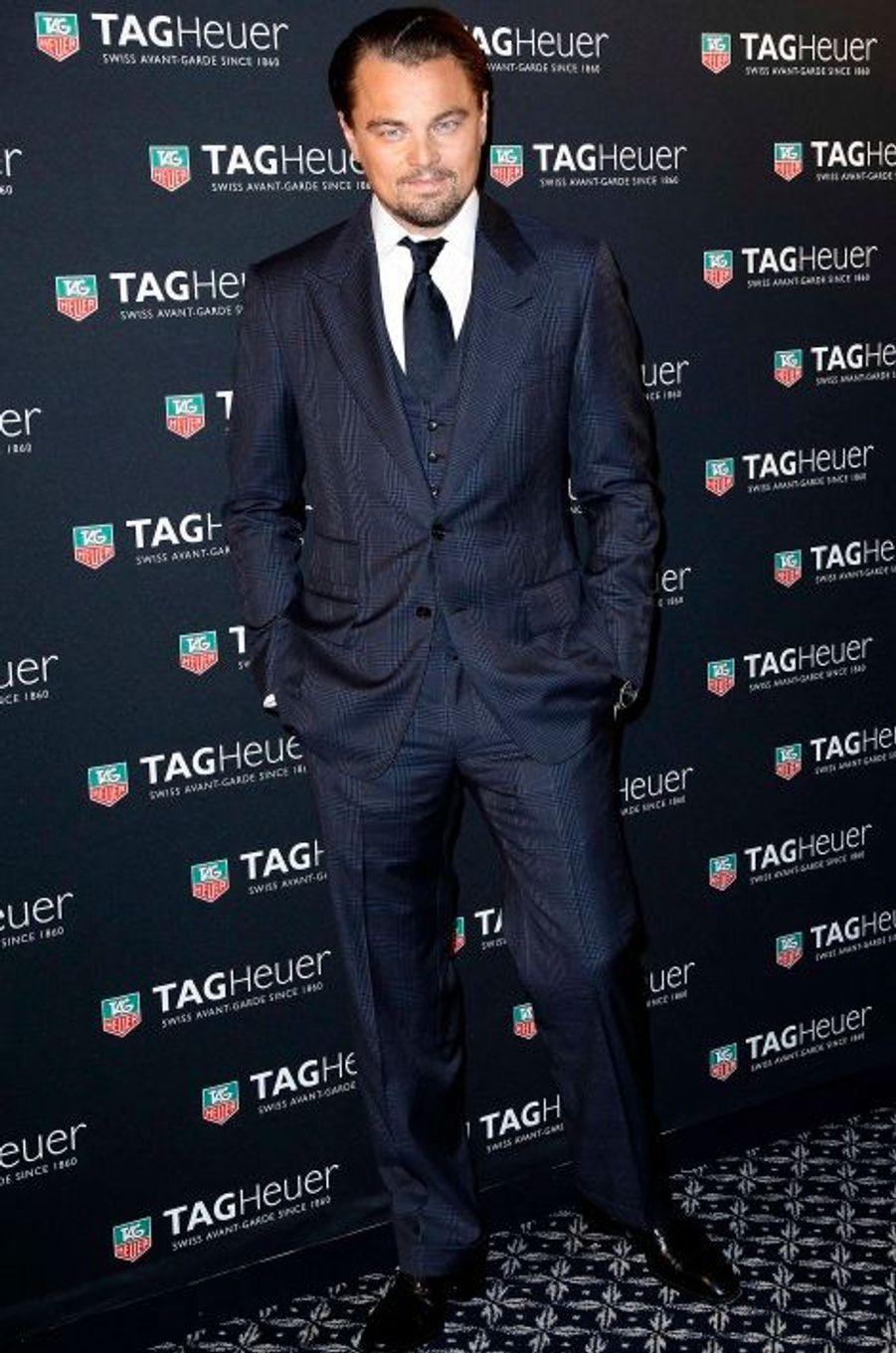Leonardo DiCaprio, une star à Paris
