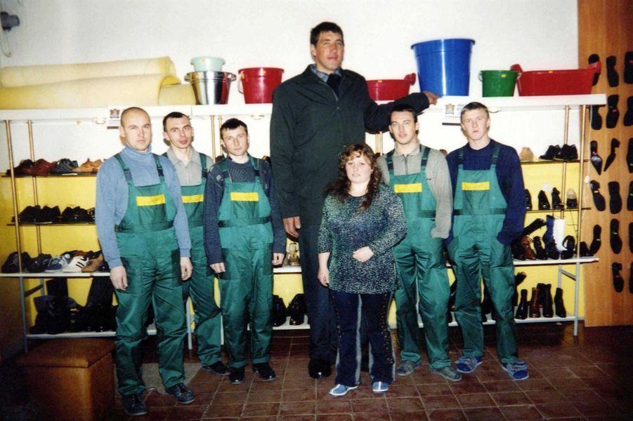 En 2002, Leonid Stadnyk avait visité une usine de fabrication de chaussures