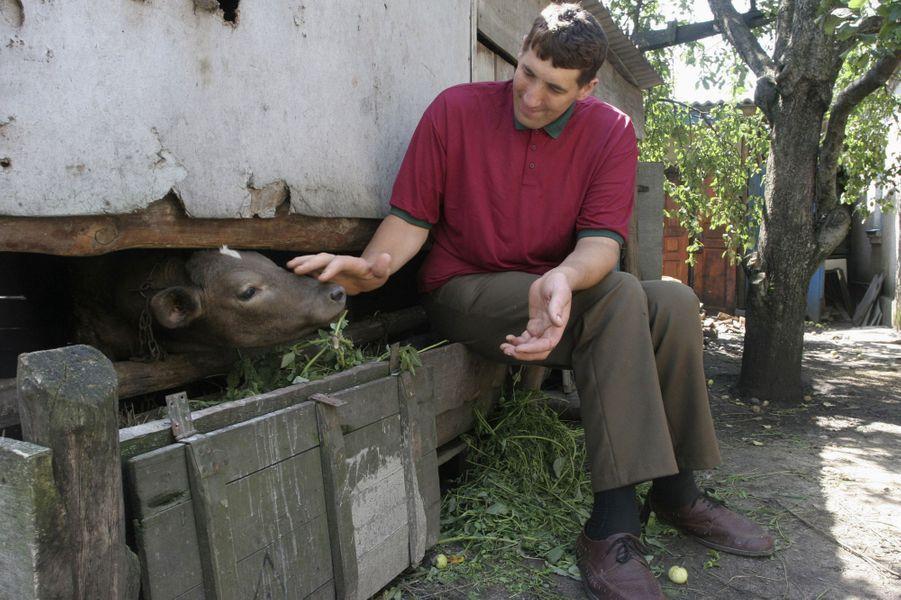 En avril 2007, Leonid Stadnyk à Podoliantsy