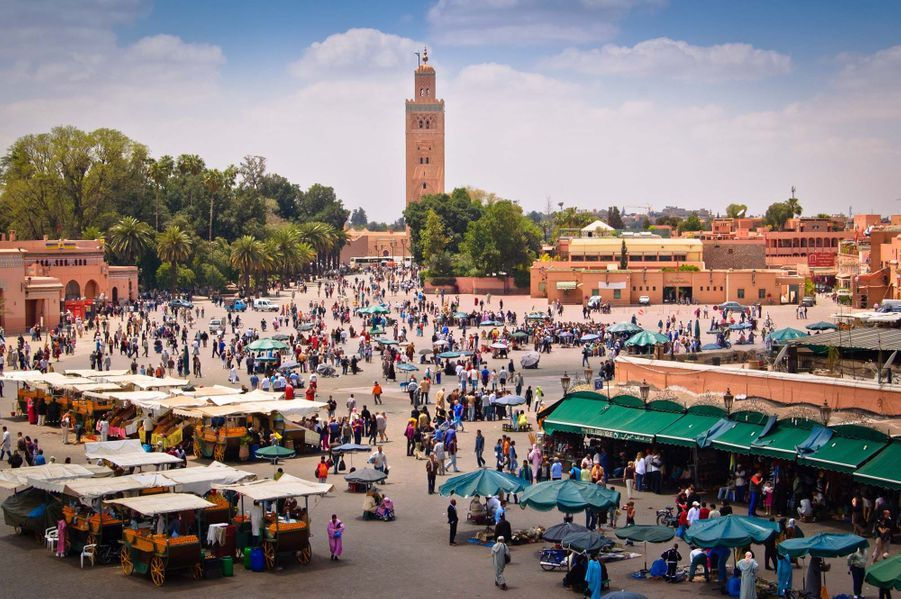 8) Marrakech, Maroc