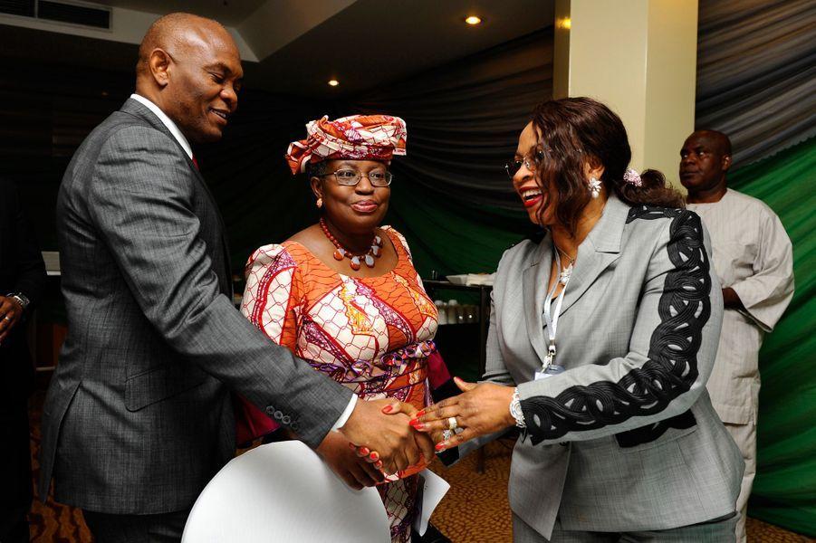 Deuxième femme plus riche d'Afrique selon Forbes (2,3 milliards de dollars), avait pourtant commencé comme simple secrétaire. Devenue créatrice de mode grâce à «Supreme Stitches», elle habille des femmes de pouvoir. Remerciée par les autorités locales d'une plateforme pétrolière, sa société Famfa enregistre des bénéfices importants sur les deux dernières années, et Folorunsho serait désormais la femme noire la plus riche du monde d'après la presse nigérianne
