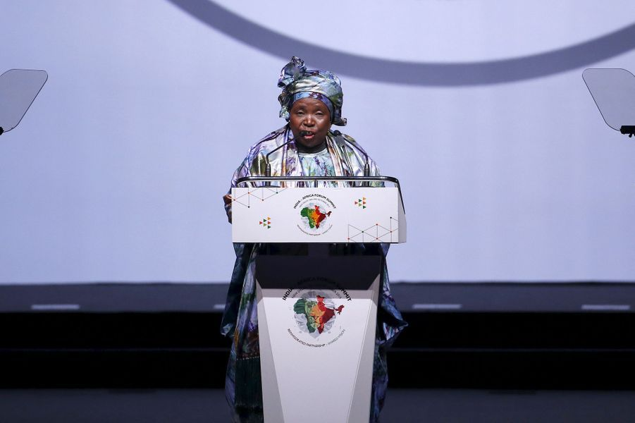 Présidente depuis 2012 de la commission de l'Union Africaine, l'ancienne épouse du président Jacob Zuma compte bien lui succéder à la tête du gouvernement sud-africain en 2019. Son objectif principal est de faire de l'Afrique la troisième puissance mondiale, d'ici la moitié du 21e siècle. Une rude épreuve pour cette ancienne ministre de Nelson Mandela