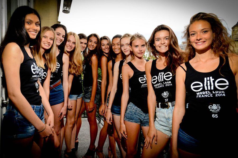 Les 12 finalistes du concours Elite Model Look France s'affronteront le 2 octobre prochain