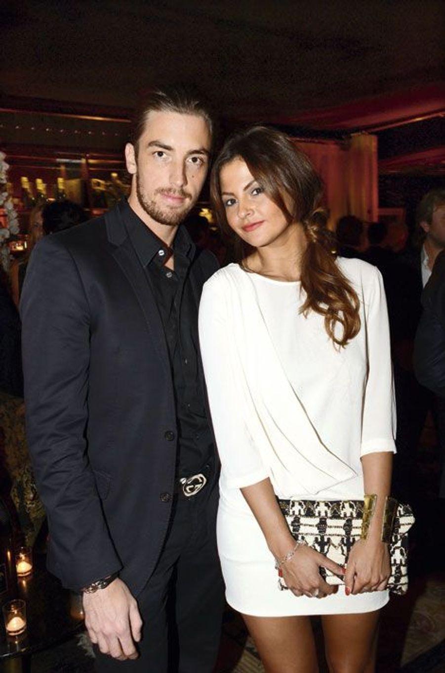 Maxime Leconte et sa fiancée, Julie Flavat.