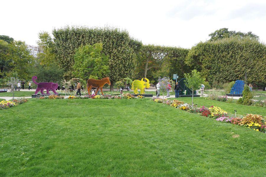 L'Arche de Noé Climat au Jardin des Plantes à Paris.