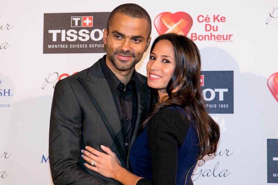 Quatre mois après l'annonce de leurs fiançailles, Tony Parker et Axelle Francine ont confirmé une autre bonne nouvelle: la jeune femme attend leur premier enfant.