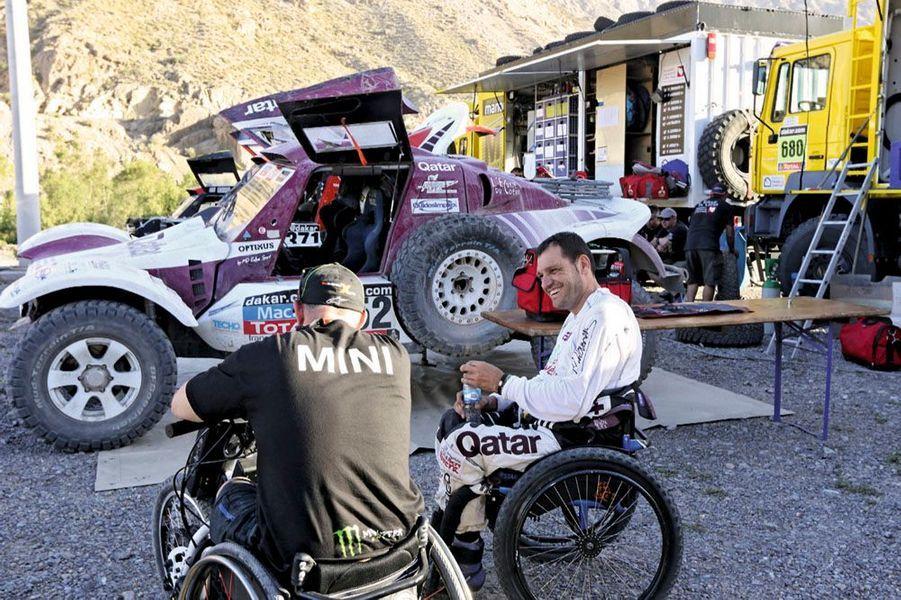 Albert Llovera, 47 ans, paraplégique, participe une nouvelle fois au Dakar.