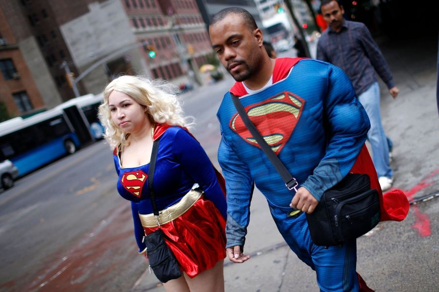 Les héros envahissent New York