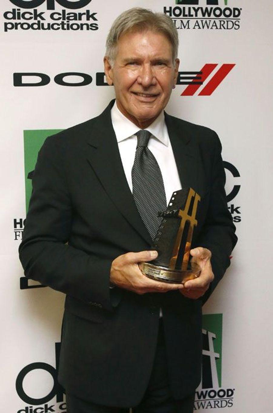 L'acteur a reçu un prix pour l'ensemble de sa carrière.