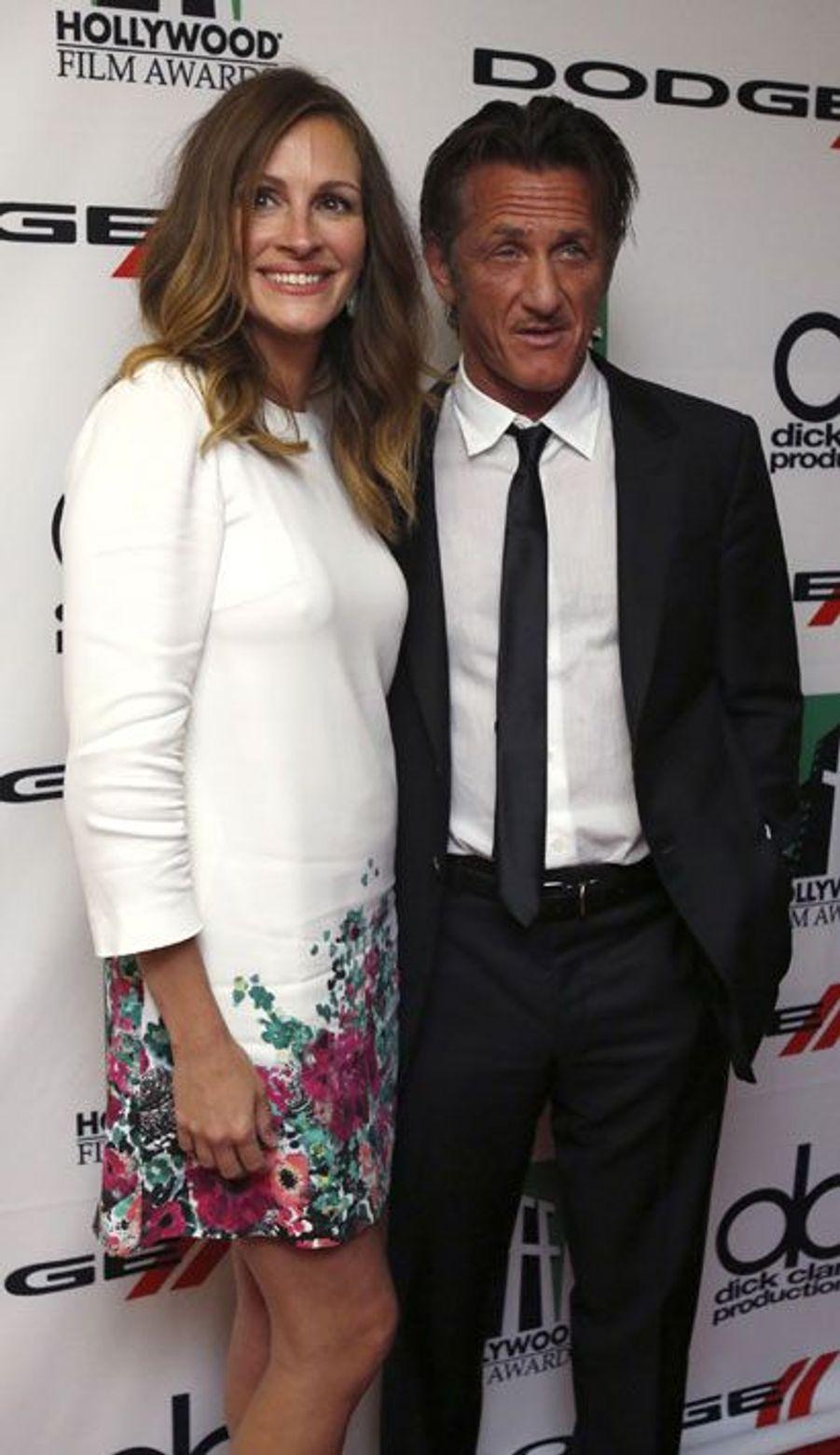 Julia Roberts et Sean Penn