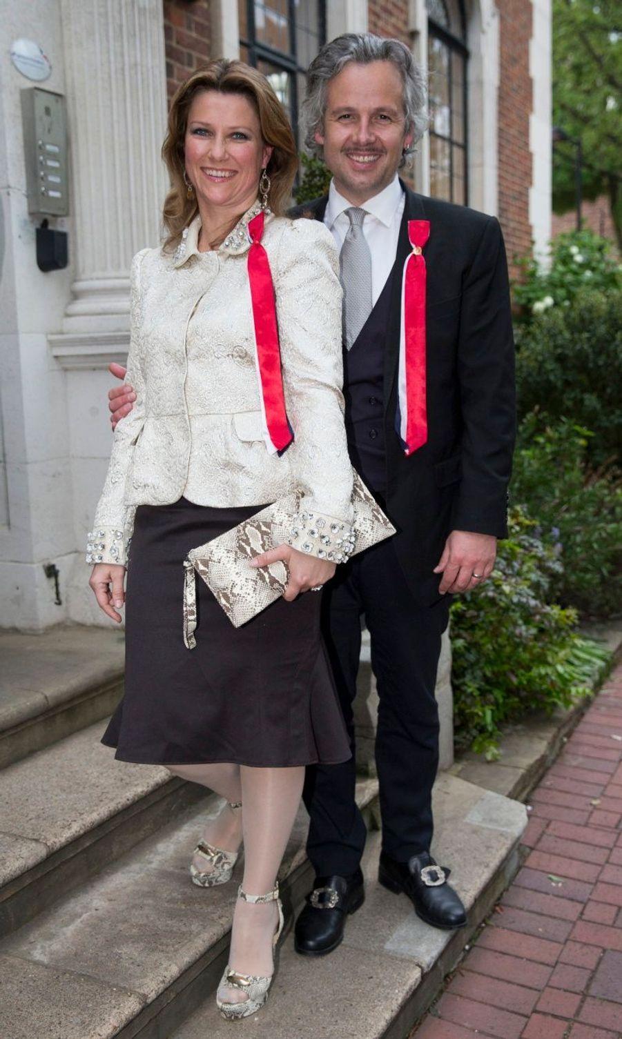 La princesse Martha Louise et son mari Ari Behn