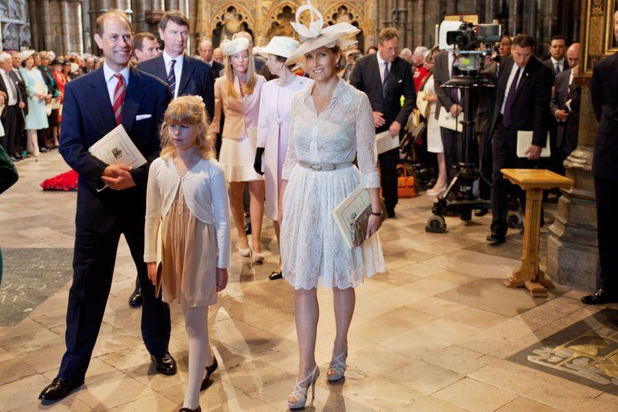 Le prince Edward et la comtesse Sophie Wessex