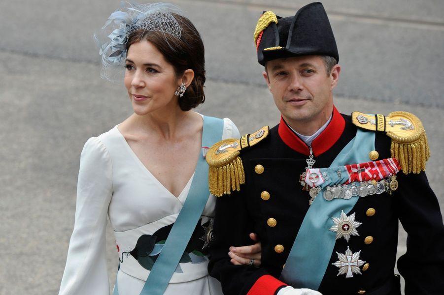 Le prince Frederik et la princesse Mary