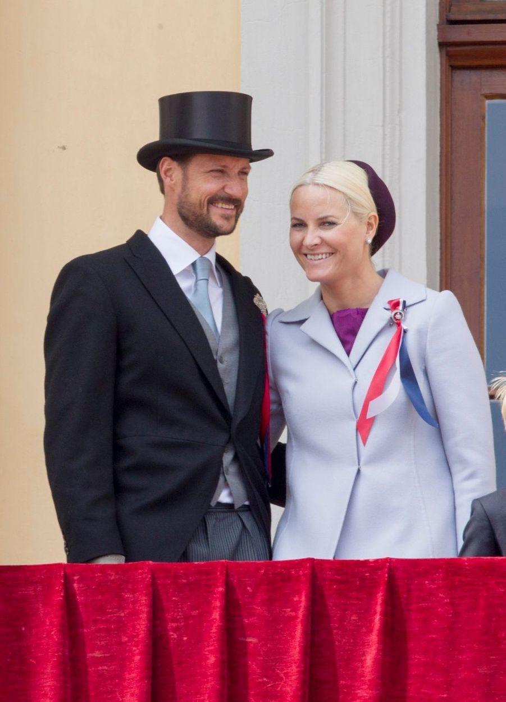 Le prince Haakon et la princesse Mette-Marit