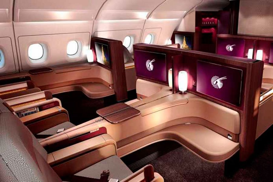 14) Qatar First Class