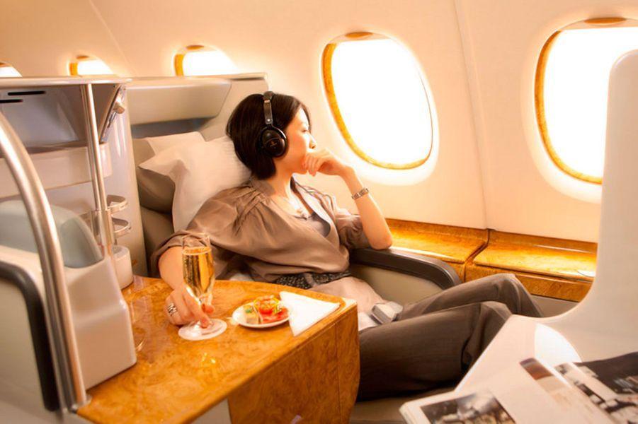 15) Emirates First Class