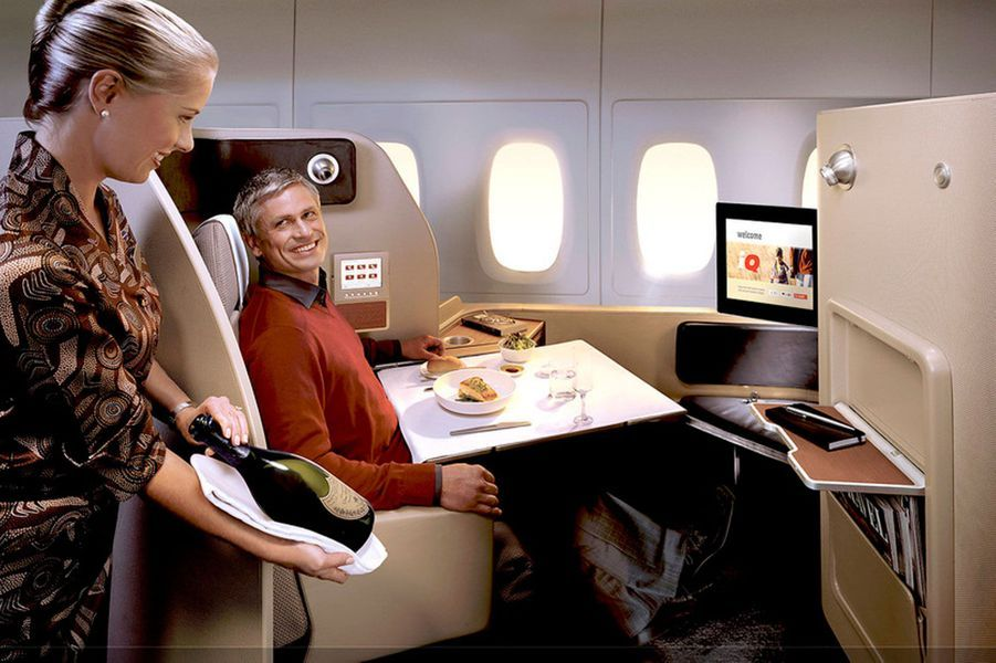 17) Qantas First Suites