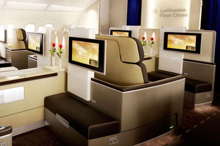 2) Lufthansa First Class