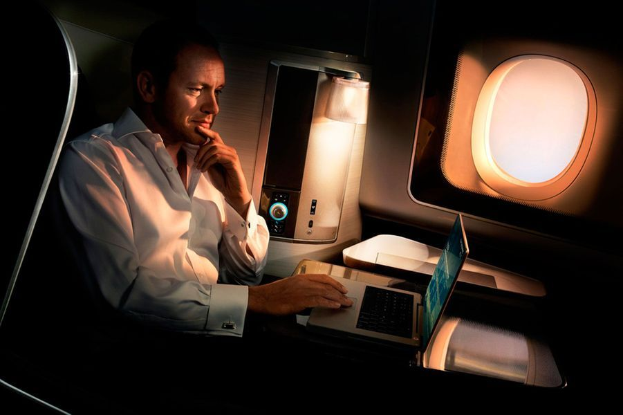 22) British Airways First Class