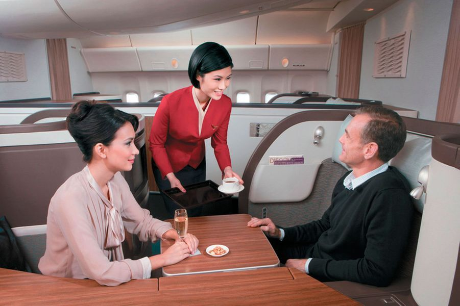 3) Cathay Pacific First Class Suites