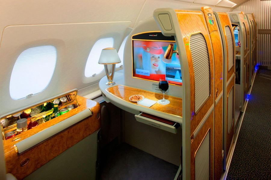 5) Emirates First Class Suites