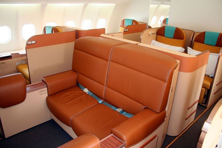 6) Oman Air First Class