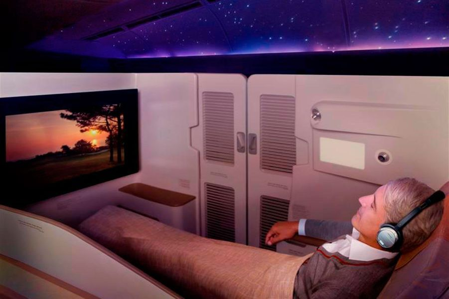 7) Asiana First Class Suite