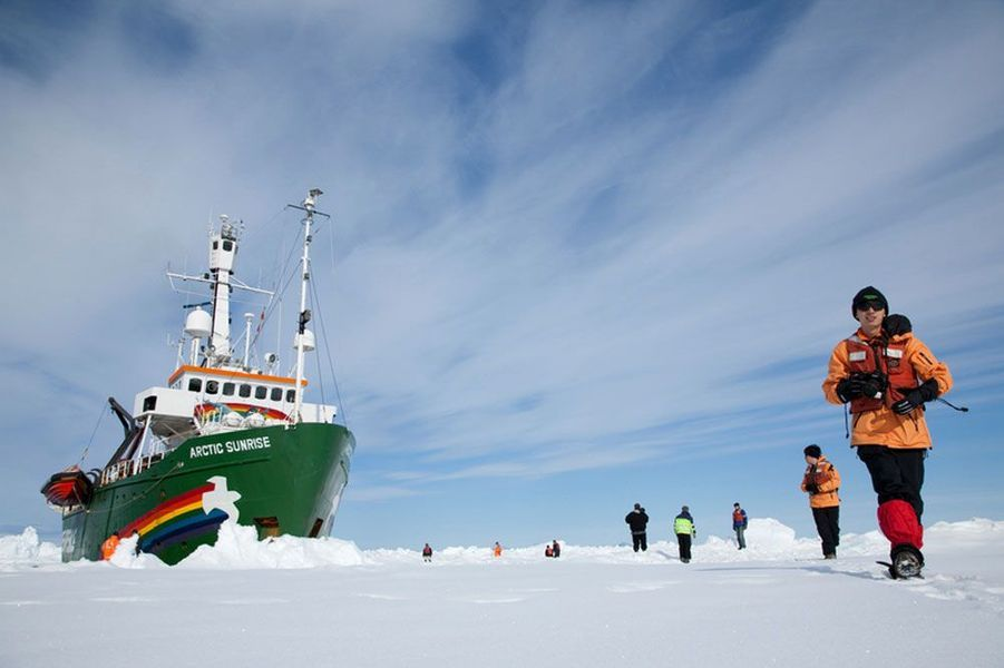 Le Arctic Sunrise, 2009