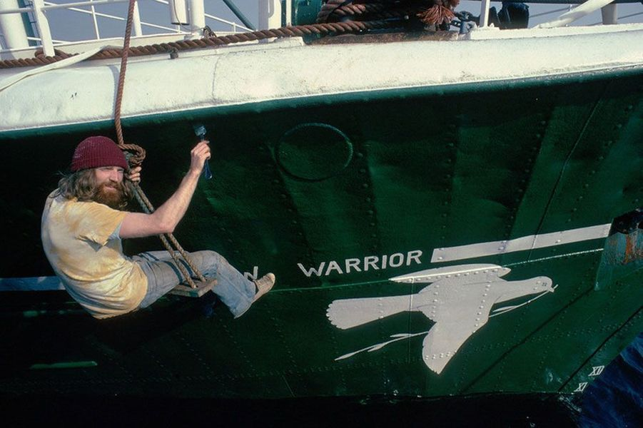 Le Rainbow Warrior I, 1978
