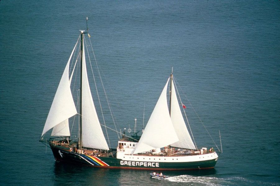 Le Rainbow Warrior II, 1985