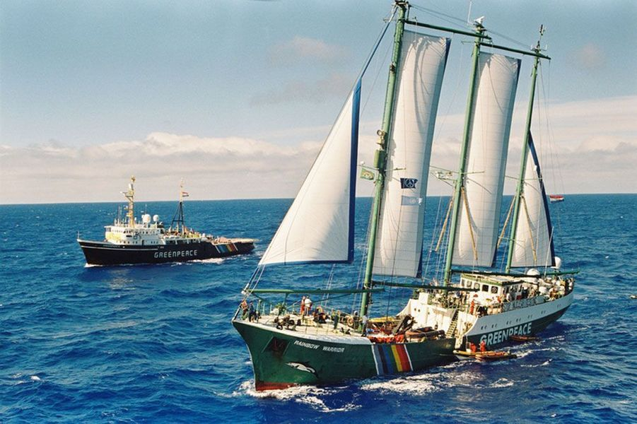 Le Rainbow Warrior II, 1995