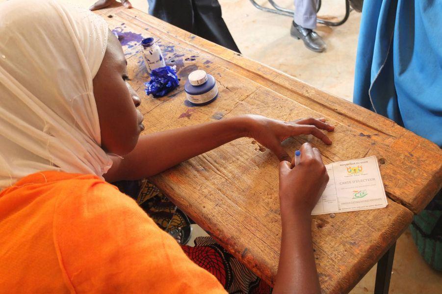 A l'école Madina de Niamey, dimanche 21 février 2016